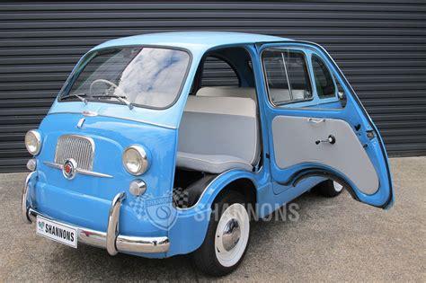 fiat multipla 600 sold fiat 600 multipla wagon rhd auctions lot 21