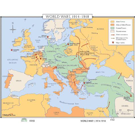 ww1 map ww1 map