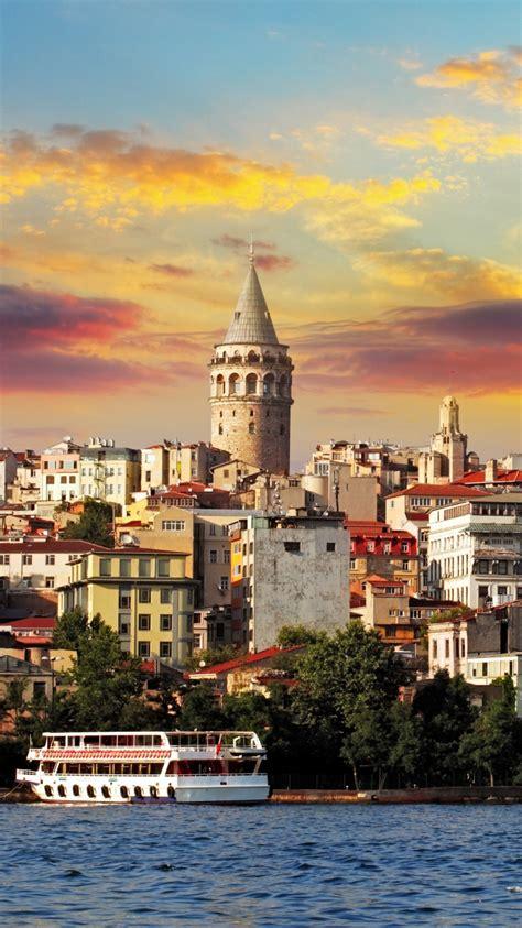 istanbul turkey sea buildings