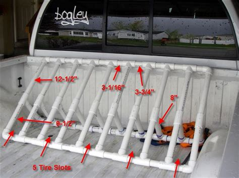 truck bed bike rack diy 25 best ideas about pvc bike racks on pinterest outdoor