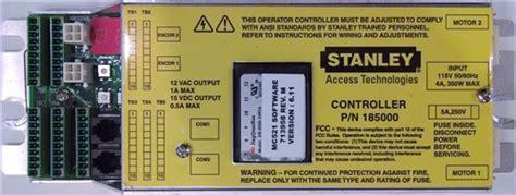 stanley dura glide microprocessor mc521 r185000