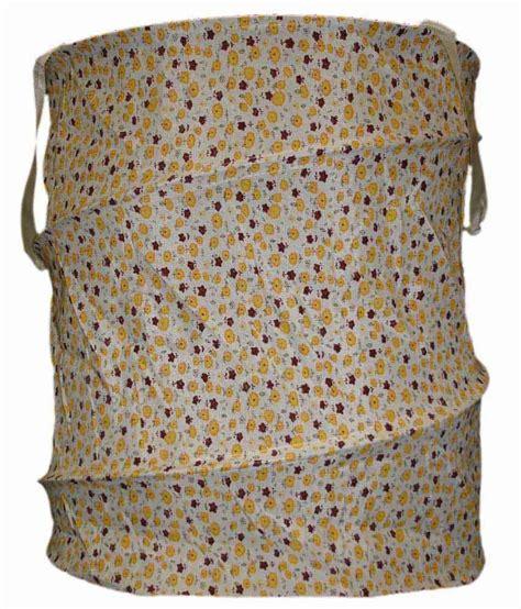 Laundry Bag Jepang Kotak home collection multipurpose use mini yellow maroon flower design shaped folding storage