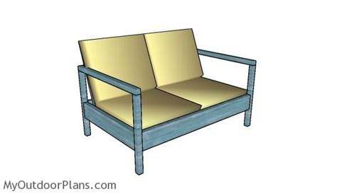outdoor loveseat plans outdoor loveseat plans myoutdoorplans free woodworking