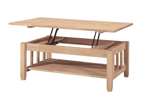 mission lift top coffee table mission lift top coffee table