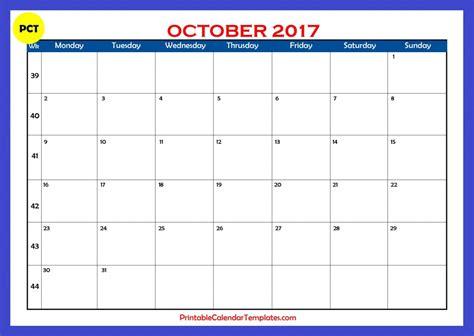 printable planner calendar october 2017 october 2017 calendar printable printable calendar templates