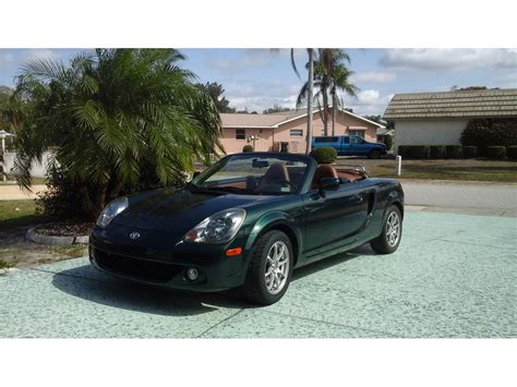 Toyota Mr2 Spyder For Sale 2004 Toyota Mr2 Spyder For Sale By Owner In Sun