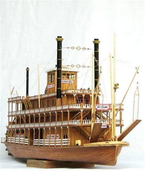 river boat model kits scale 1 100 uss mississippi 1870 wood ship model kit