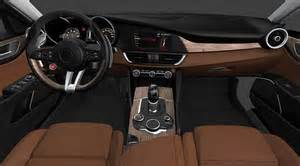 Alfa Romeo Giulia Interior Alfa Romeo Giulia Interior Reveals Manual Gearbox Recapcars