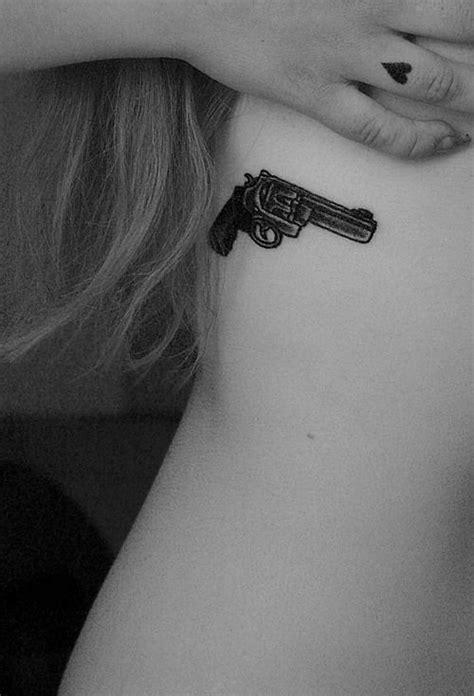 easy made tattoo gun small and simple ink pinterest pistols gun tattoos