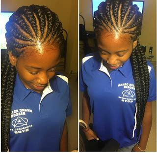 all back braids all back ghana braids to try out this season with