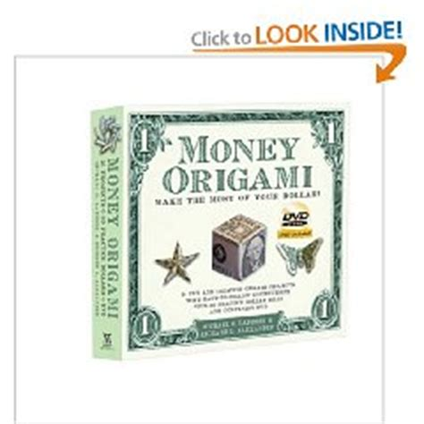 Dollar Origami Book - money origami books slideshow