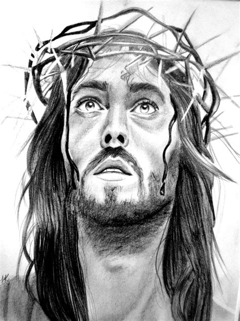 Black And White Drawings Of Jesus by Picturespool Jesus Pictures