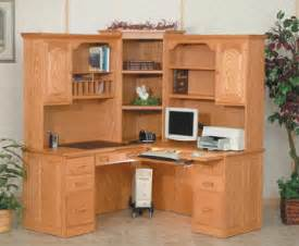 Corner Writing Desk With Hutch by Corner Desks With Hutch For Writers And Home Offices