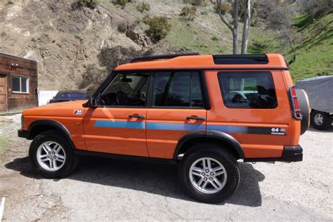 2004 land rover discovery road 2004 land rover discovery g4 challenge for sale on bat