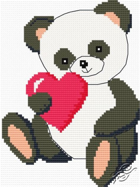 Valentines Day Card Template Stitch by Free Patterns Special Occasions Gvello Stitch