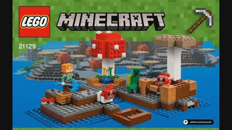 Lego Minecraft 21129 The Island lego minecraft 21129 the island timelapse