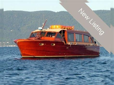 chris craft 40 venetian water taxi for sale daily boats - Venetian Boat Sales