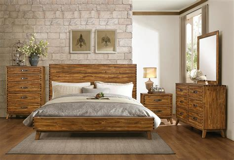 homelegance sorrel panel platform bedroom set rustic    homelementcom