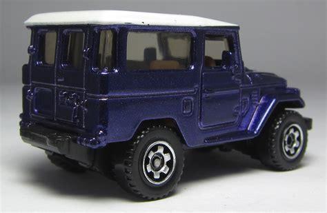 Matchbox Toyota Land Cruiser Fj40 Ungu Purple look matchbox 1968 toyota land cruiser fj40 the
