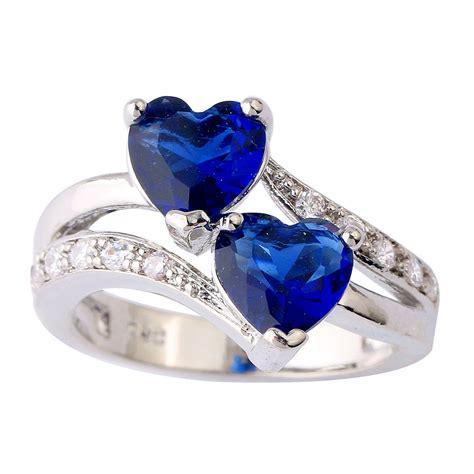 two sapphire silver ring nadine jardin