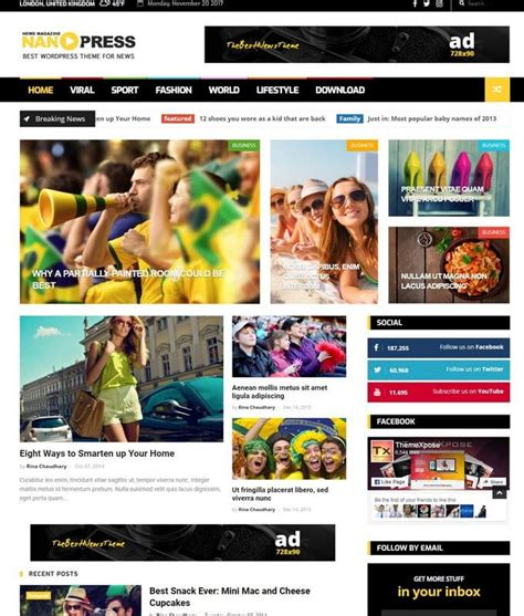 wordpress themes no pictures nanopress blogger template free download