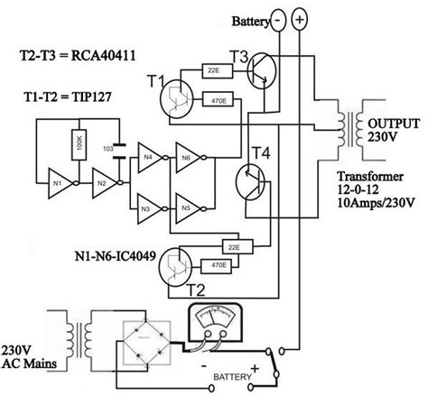 inverter block diagram working solar inverter block diagram solar energy