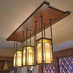 craftsman style dining room lighting fixture