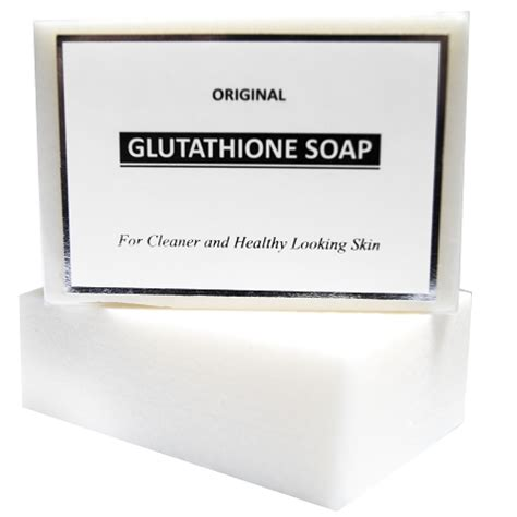 Gluta White Original original glutathione whitening soap to lighten skin fade