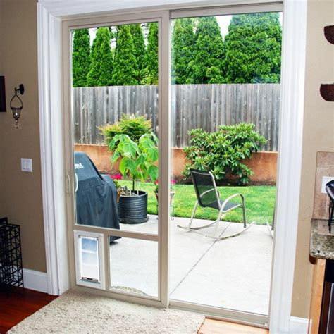 Patio Pet Doors For Sliding Glass Doors 25 Benefits Of Doors For Sliding Glass Doors Interior Exterior Ideas