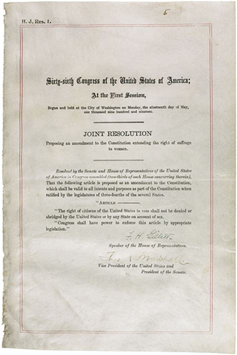 19th Amendment Essay by Nineteenth Amendment To The United States Constitution 06 04 1919 06 04 1919 Flickr Photo
