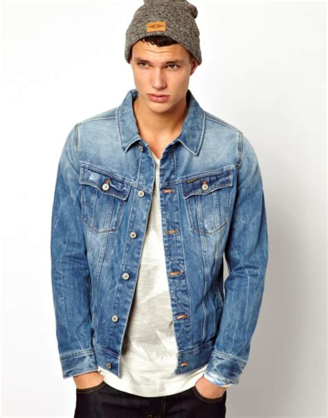 light jean jacket mens blue jean jackets jackets