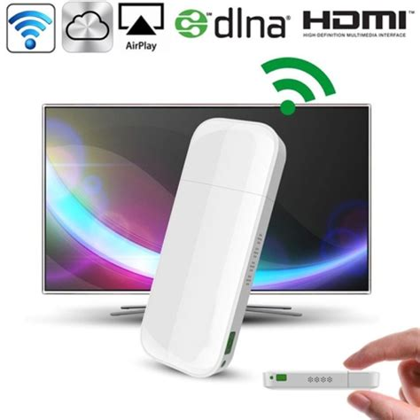 Tv Samsung Layar Cekung d2 n ipush hdmi airplay dlna wifi displayer receiver for