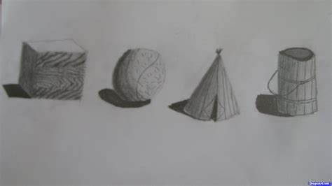 Drawing 3d Objects how to draw 3d objects step by step pop culture