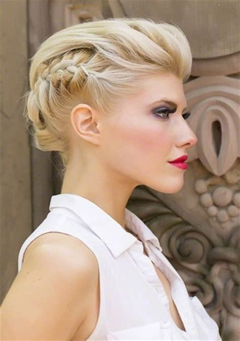 hair style for a ball summer braided short hairstyles 2015 for prom short