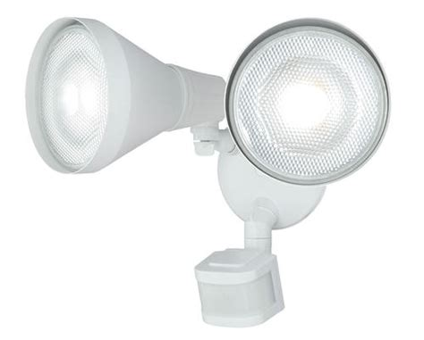 led 10 quot 240 degree 2 motion activated flood light at