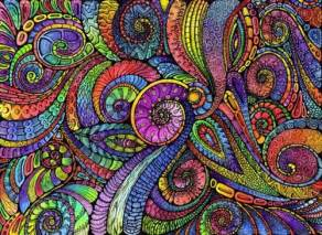 zentangle color coloured zentangle zentangle paisley