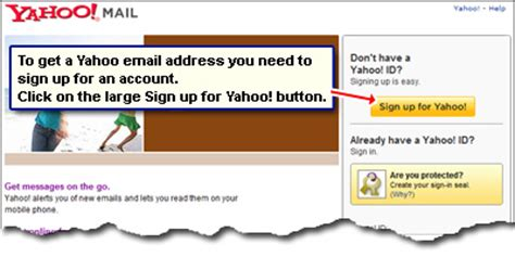 Search For Yahoo Email Address Searchitfast Image Email Address At Sign