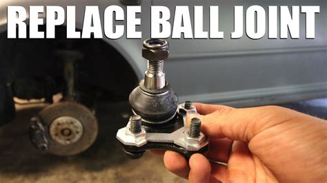 how to replace a lower ball joint youtube how to replace a ball joint youtube