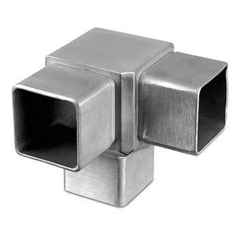Galerry square tube connectors corner