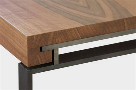 Wood Connection Furniture by Details We Like Table Connection Metal Frame