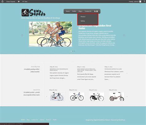 tutorial web design untuk pemula belajar membuat website untuk pemula step 4 mengatur menu