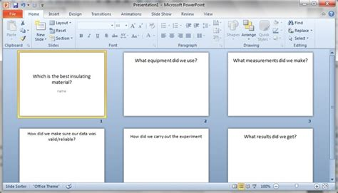 powerpoint tutorial for students using powerpoint with students who have special needs