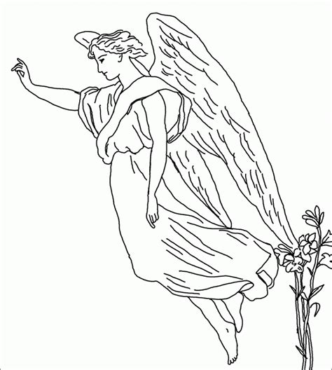 guardian angels coloring page male guardian angel coloring page coloring home