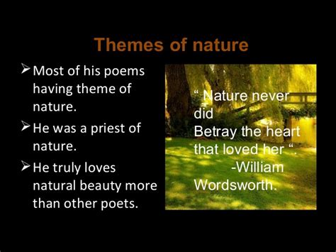 themes of english poetry 2 william wordsworth