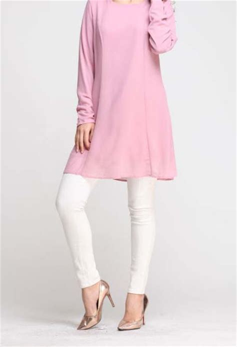 Dress Feminim Wanita Cantik Putih A30996 norzi beautilicious house nbh0468 izyan blouse