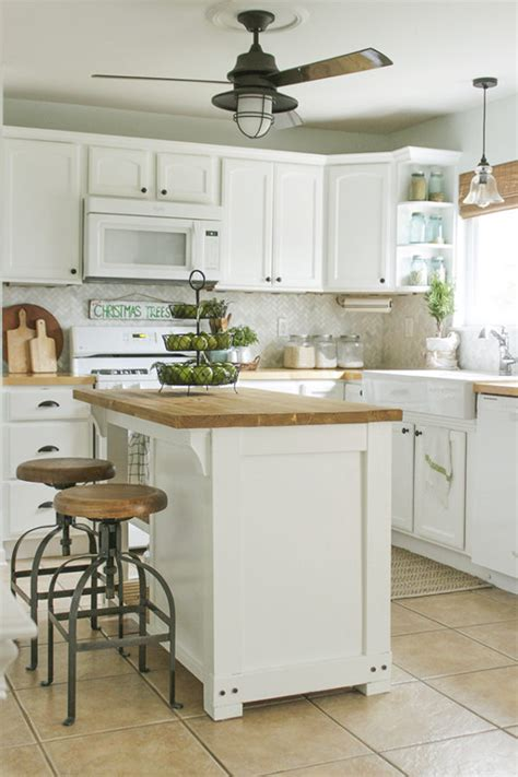 DIY Kitchen Island   25 Easy Ideas That You Can Build on a