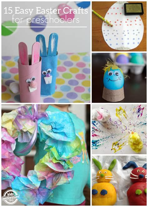 easter activity ideas for 15 easy easter crafts for preschoolers