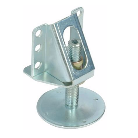 Adjuster Foot M8 200 Galvanized partition adjuster with bracket 216 15 mm 200 kg