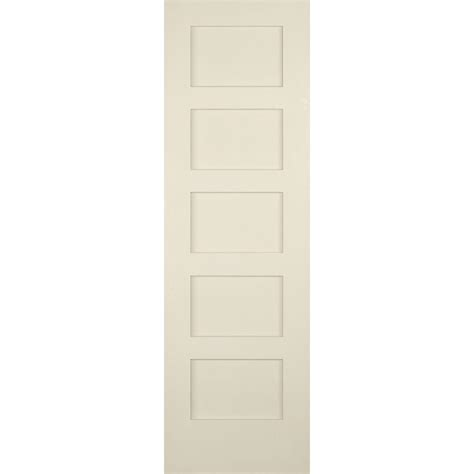 Builder S Choice 24 In X 80 In 5 Panel Shaker Solid Core 5 Panel Shaker Interior Door