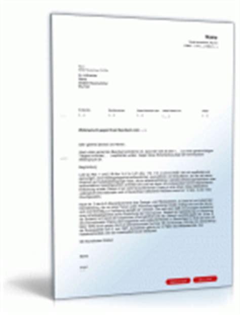 Musterbrief Widerspruch Kfz Steuer Widerspruch R 252 Ckzahlung Alg Ii F 252 R Angeh 246 Rige Vorlage Zum